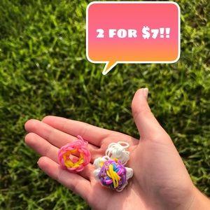 2 FOR $7 RAINBOW LOOM CHARMS!!!!